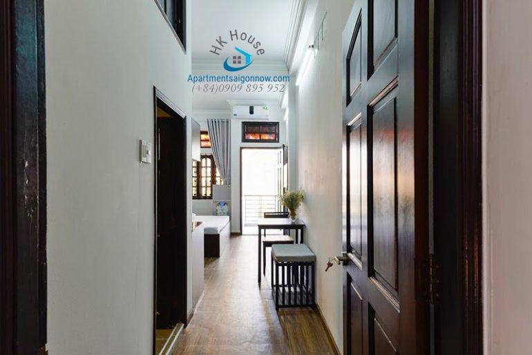 Căn hộ dịch vụ đường Lý Chính Thắng quận 3 với dạng studio ID 585 với ban công số 2