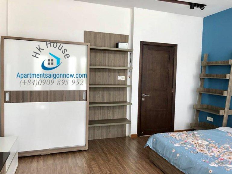 Căn hộ dịch vụ trên đường Trần Bình Trọng quận Gò Vấp với dạng studio và ban công ID 570 so 2
