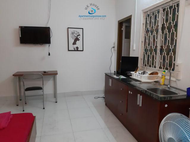 Căn hộ dịch vụ đường Nguyễn Đình Chiểu ID 589 căn P2 số 2