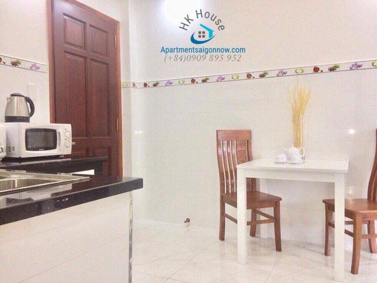 Căn hộ dịch vụ cho thuê trên đường Phạm Ngọc Thạch quận 3 với 1 phòng ngủ ID 270 số 9