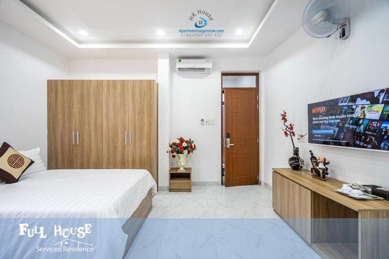 Căn hộ dịch vụ cho thuê trên đường Điện Biên Phủ quận 3 ID 598 số 15