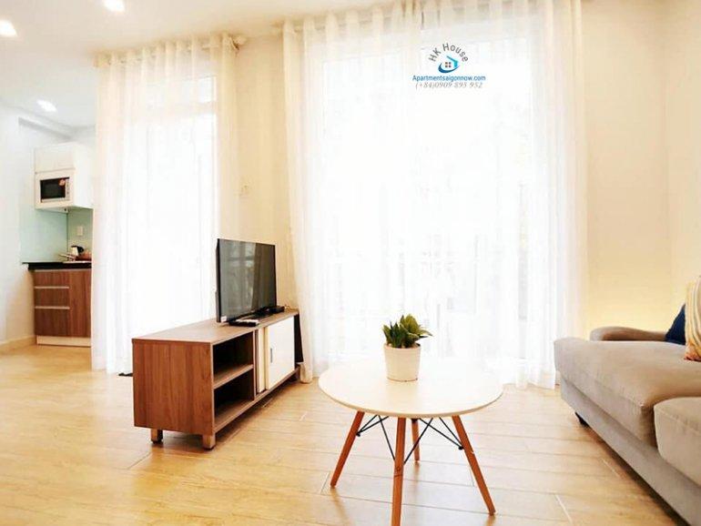 Căn hộ dịch vụ đường Võ Thị Sáu quận 3 dạng 1 phòng ngủ có ban công ID 292 số 1