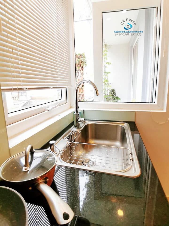 Căn hộ dịch vụ đường Võ Thị Sáu quận 3 dạng 1 phòng ngủ có ban công ID 292 số 5