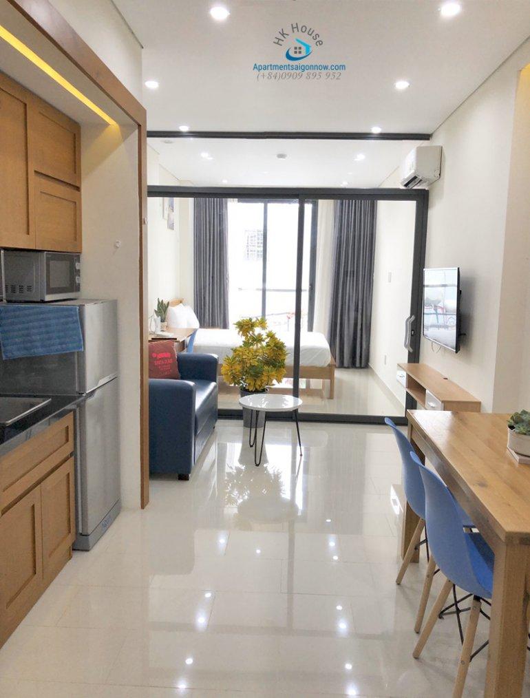 Căn hộ dịch vụ đường Trần Đình Xu quận 1 dạng 1 phòng ngủ ID 179 số 1