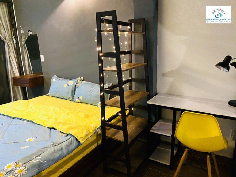 Căn hộ dịch vụ cho thuê trên đường Tân Cảng quận Bình Thạnh dạng 1 phòng ngủ gác lửng và ban công ID 605 số 17