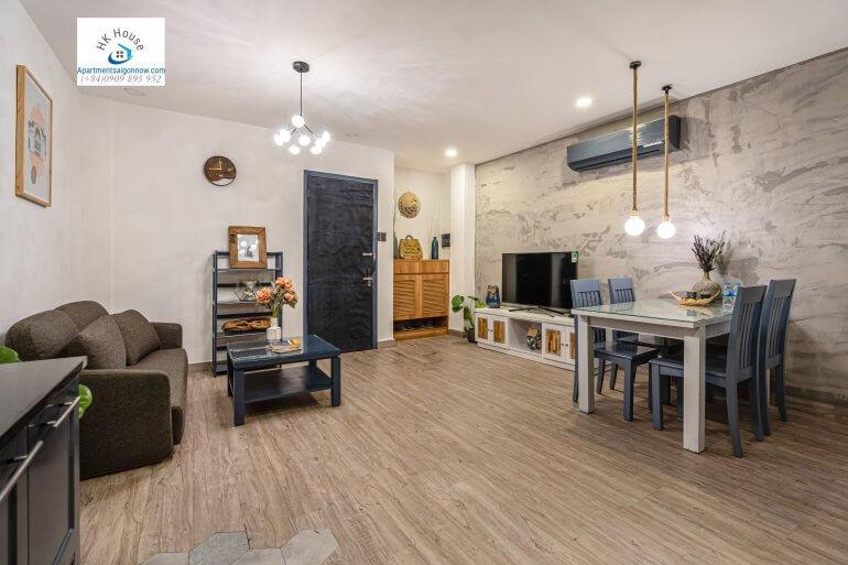 Serviced apartment on Nguyen Van Thu street in dist 1 room 1B ID D1/27 part 4