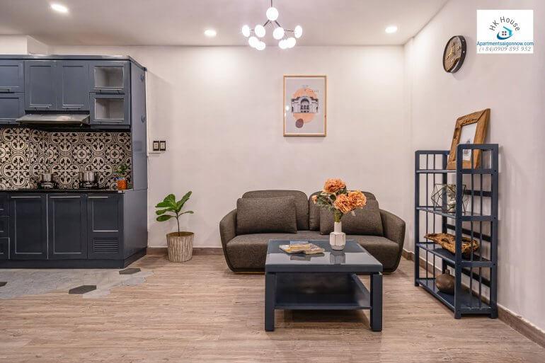 Serviced apartment on Nguyen Van Thu street in dist 1 room 1B ID D1/27 part 5