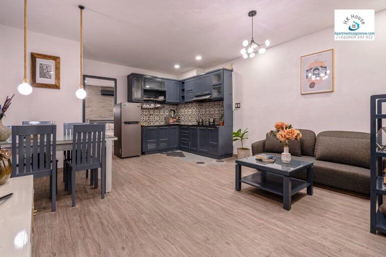 Serviced apartment on Nguyen Van Thu street in dist 1 room 1B ID D1/27 part 10