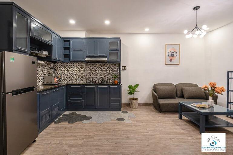 Serviced apartment on Nguyen Van Thu street in dist 1 room 1B ID D1/27 part 12