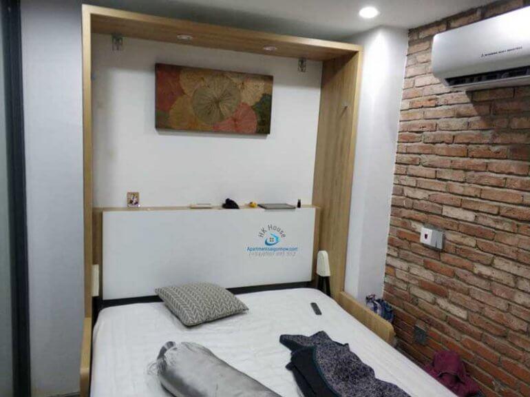 Căn hộ dịch vụ cho thuê trên đường Nguyễn Xí quận Bình Thạnh ID 567 phòng 4 số 1