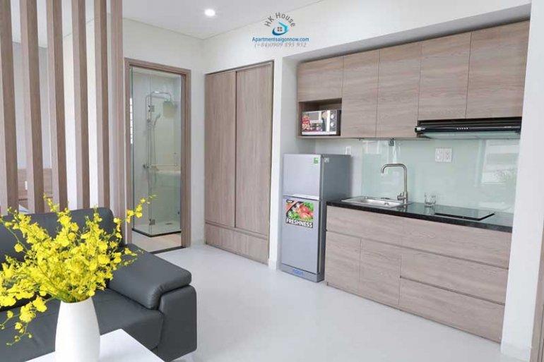 Căn hộ dịch vụ cho thuê trên đường Nguyễn Thị Minh Khai quận 1 với studio ID 623 số 6