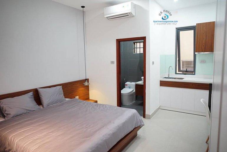 Căn hộ dịch vụ đường Cao Thắng quận 3 dạng 1 phòng ngủ ID 389 số 11