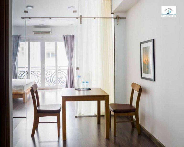 Căn hộ dịch vụ đường Nguyễn Văn Thủ quận 1 dạng 1 phòng ngủ ID 446 số 4