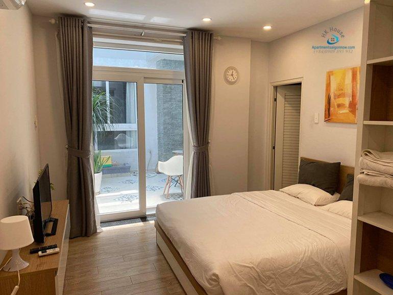 Căn hộ dịch vụ đường Võ Thị Sáu quận 3 tầng trệt dạng studio ID 292 số 1