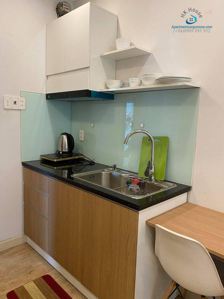 Căn hộ dịch vụ đường Võ Thị Sáu quận 3 tầng trệt dạng studio ID 292 số 4