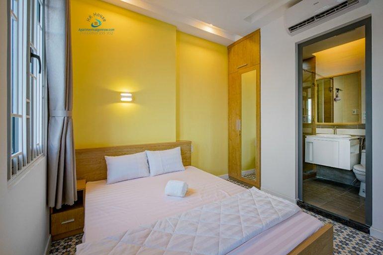 Căn hộ dịch vụ đường Hồ Văn Huê quận Phú Nhuận dạng studio lớn ID 627 số 11