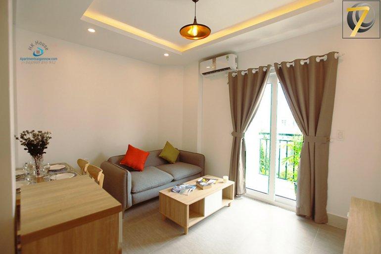 Căn hô dịch vụ đường Nguyễn Bá Huân quận 2 dạng 2 phòng ngủ ID 630 số 5