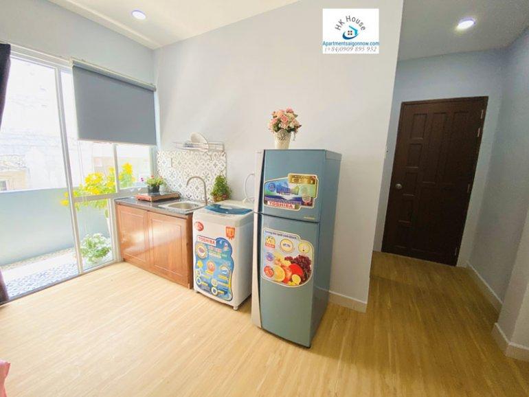 Căn hộ dịch vụ đường Nguyễn Cửu Vân dạng studio lớn quận Bình Thạnh ID 631 số 5