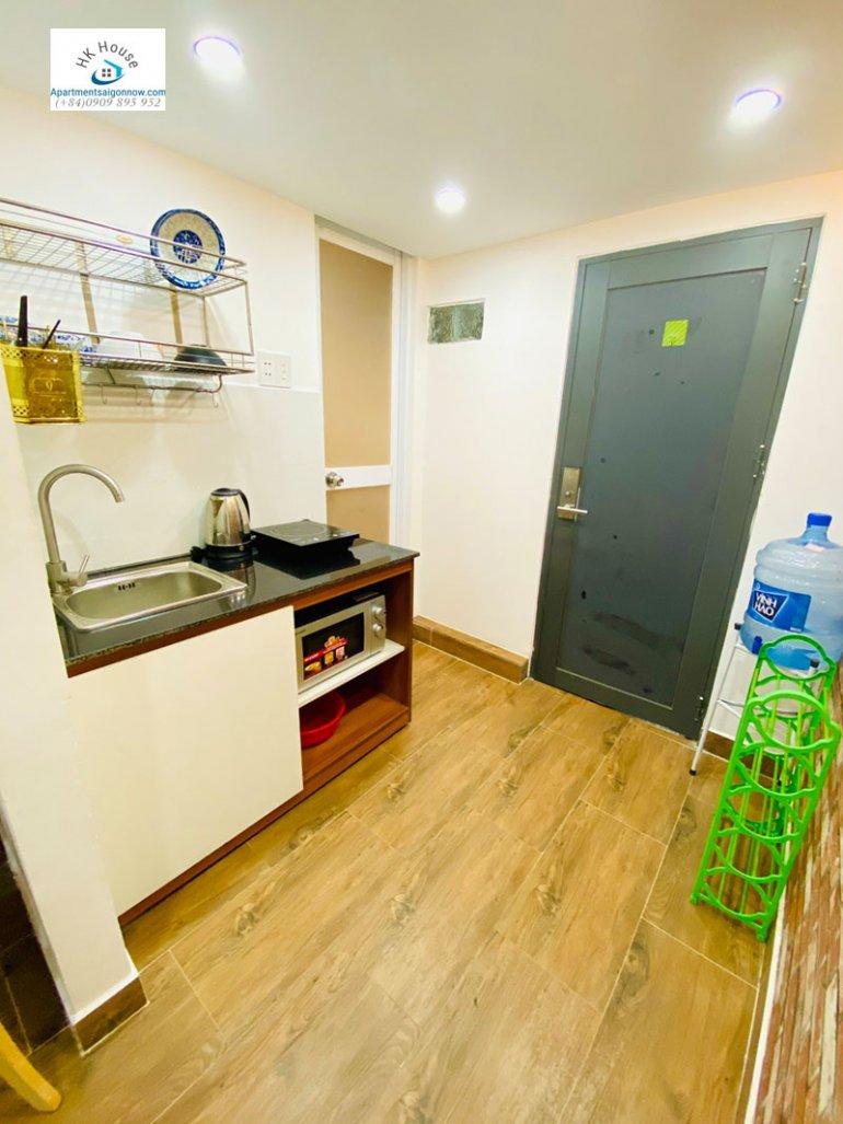 Căn hộ dịch vụ cho thuê trên đường Tân Cảng quận Bình Thạnh dạng studio gác lửng 2 ID 605 số 10