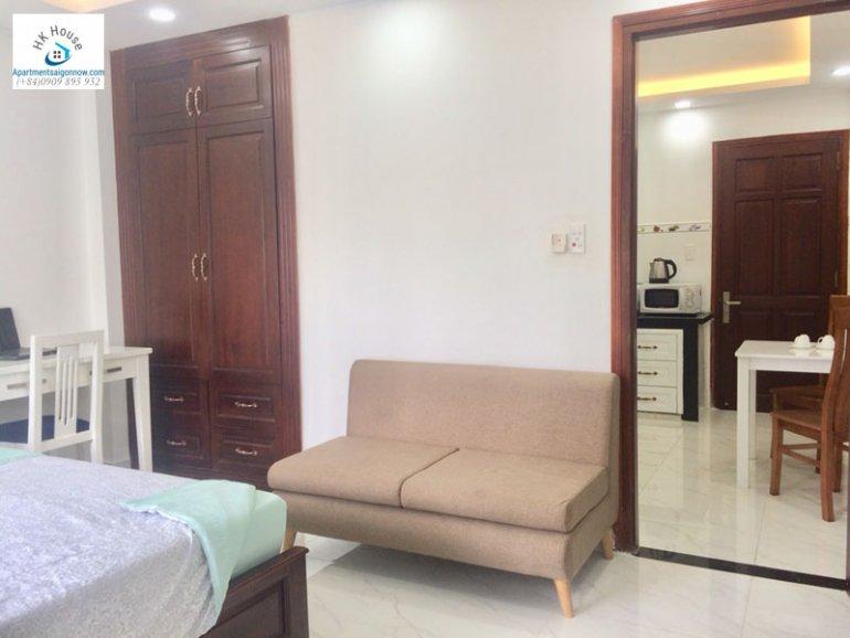 Căn hộ dịch vụ cho thuê trên đường Phạm Ngọc Thạch quận 3 với 1 phòng ngủ có ban công ID 270 số 8