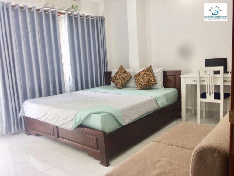 Căn hộ dịch vụ cho thuê trên đường Phạm Ngọc Thạch quận 3 với 1 phòng ngủ có ban công ID 270 số 2