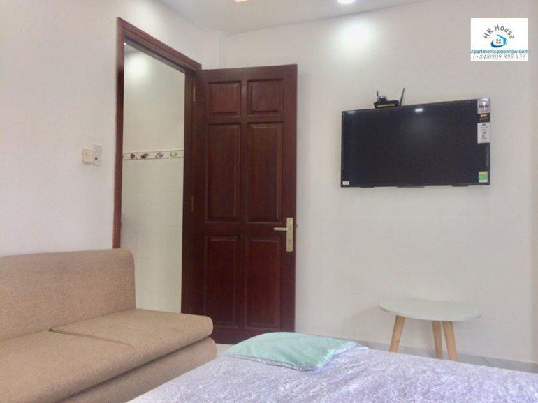 Căn hộ dịch vụ cho thuê trên đường Phạm Ngọc Thạch quận 3 với 1 phòng ngủ có ban công ID 270 số 3