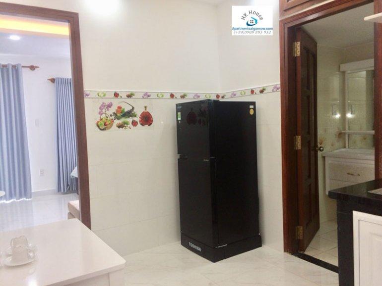 Căn hộ dịch vụ cho thuê trên đường Phạm Ngọc Thạch quận 3 với 1 phòng ngủ có ban công ID 270 số 7