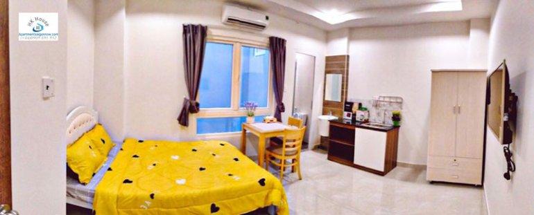 Căn hộ dịch vụ đường Phan Văn Hân quận Bình Thạnh dạng studio lớn ID 632 số 1