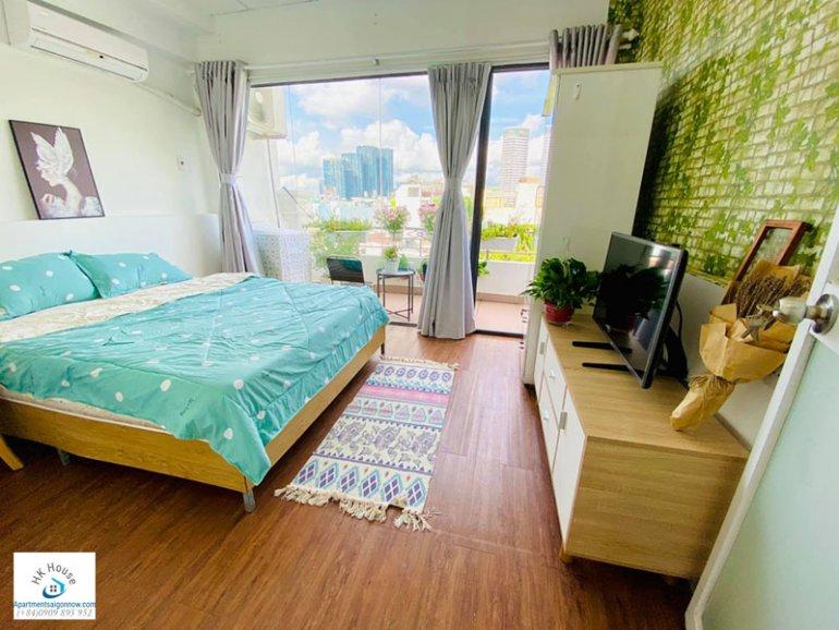Căn hộ dịch vụ đường Nguyễn Hữu Cảnh quận Bình Thạnh với 1 phòng ngủ có ban công ID 634 số 5