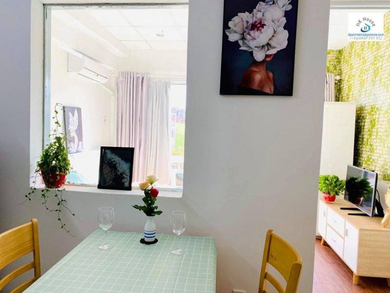 Căn hộ dịch vụ đường Nguyễn Hữu Cảnh quận Bình Thạnh với 1 phòng ngủ có ban công ID 634 số 9