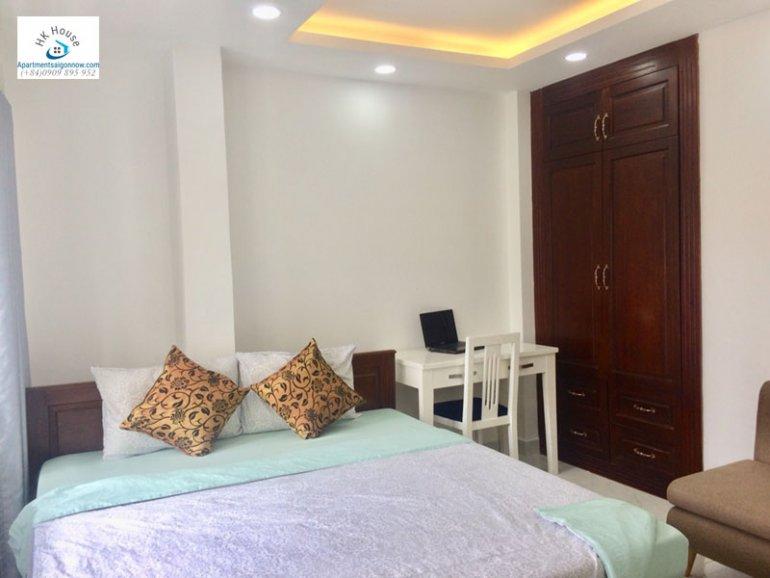 Căn hộ dịch vụ cho thuê trên đường Phạm Ngọc Thạch quận 3 với 1 phòng ngủ có ban công ID 270 số 10