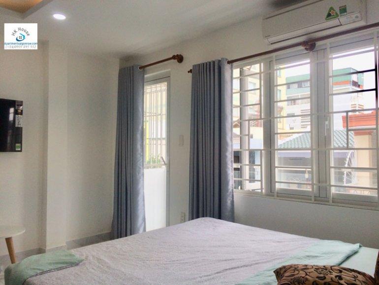 Căn hộ dịch vụ cho thuê trên đường Phạm Ngọc Thạch quận 3 với 1 phòng ngủ có ban công ID 270 số 11