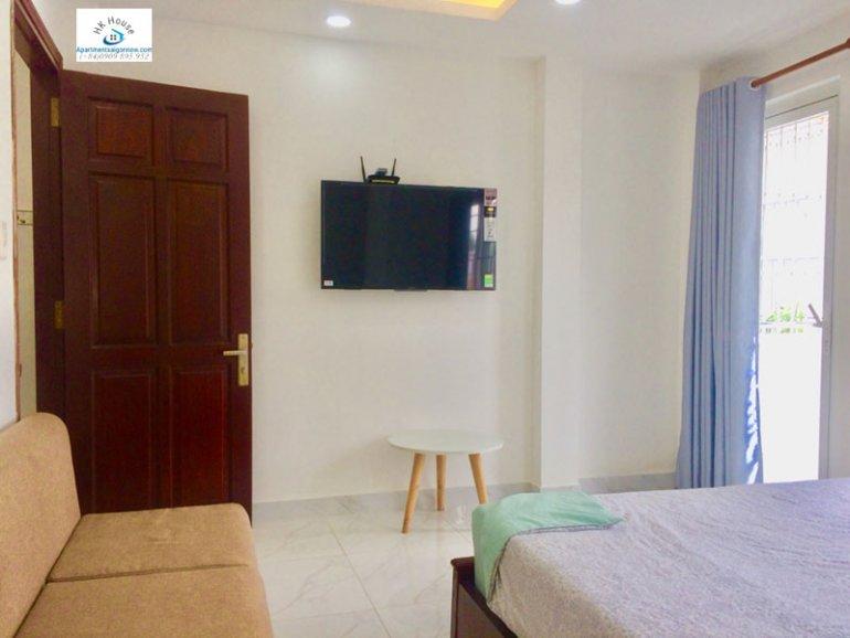 Căn hộ dịch vụ cho thuê trên đường Phạm Ngọc Thạch quận 3 với 1 phòng ngủ có ban công ID 270 số 12