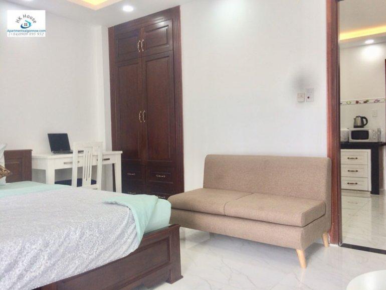 Căn hộ dịch vụ cho thuê trên đường Phạm Ngọc Thạch quận 3 với 1 phòng ngủ có ban công ID 270 số 14