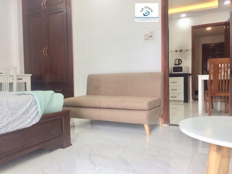 Căn hộ dịch vụ cho thuê trên đường Phạm Ngọc Thạch quận 3 với 1 phòng ngủ có ban công ID 270 số 17