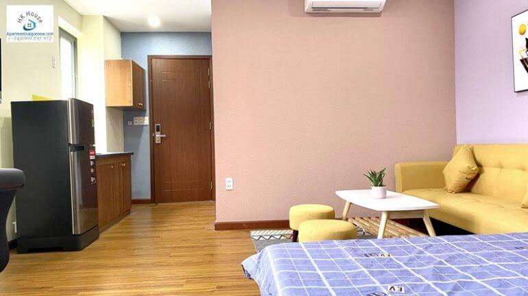 Căn hộ dịch vụ tại Nam Thông 3 quận 7 phòng 2 số 1