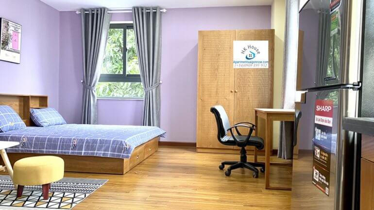 Căn hộ dịch vụ tại Nam Thông 3 quận 7 phòng 2 số 12
