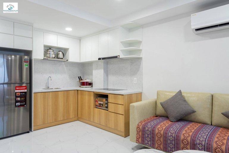 Cho thuê căn hộ dịch vụ quận 1 với 1 phòng ngủ và trang trí đẹp - ID 683 8