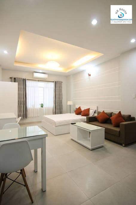 Cho thuê căn hộ dịch vụ Quận 1 loại 1 phòng ngủ, trang trí đẹp - ID D1 / 7 3