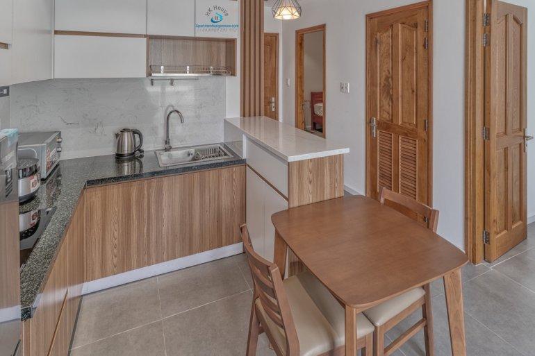 Cho thuê căn hộ dịch vụ Quận 2 loại 1 phòng ngủ, trang trí đẹp - ID D2 / 1.1 1