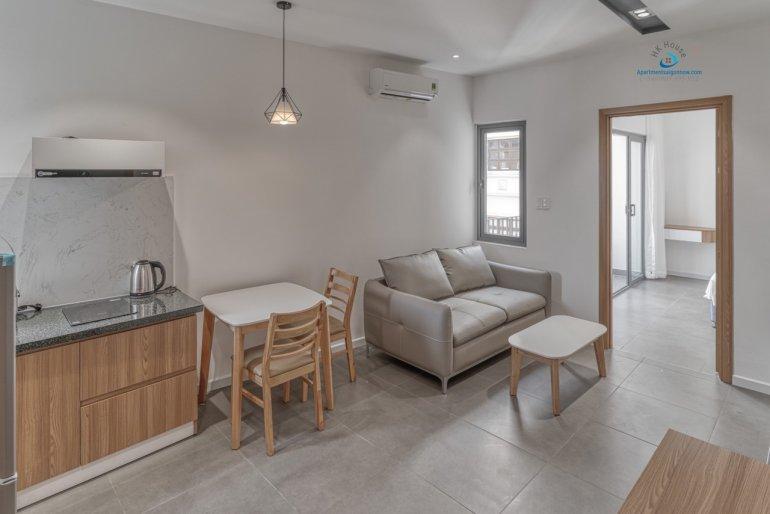 Cho thuê căn hộ dịch vụ Quận 2 loại 1 phòng ngủ, trang trí đẹp - ID D2 / 1.2 4