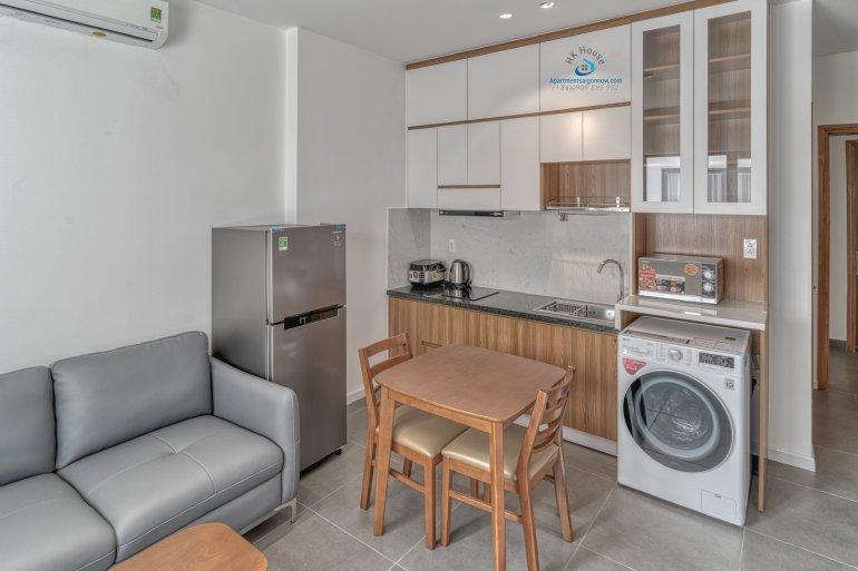 Cho thuê căn hộ dịch vụ Quận 2 loại 1 phòng ngủ, trang trí đẹp - ID D2 / 1.4 5